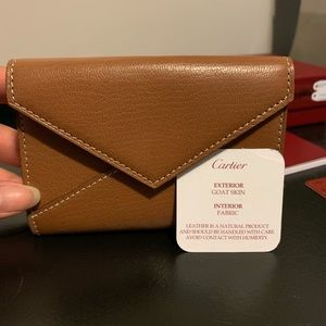 NWT Authentic Cartier wallet/card holder